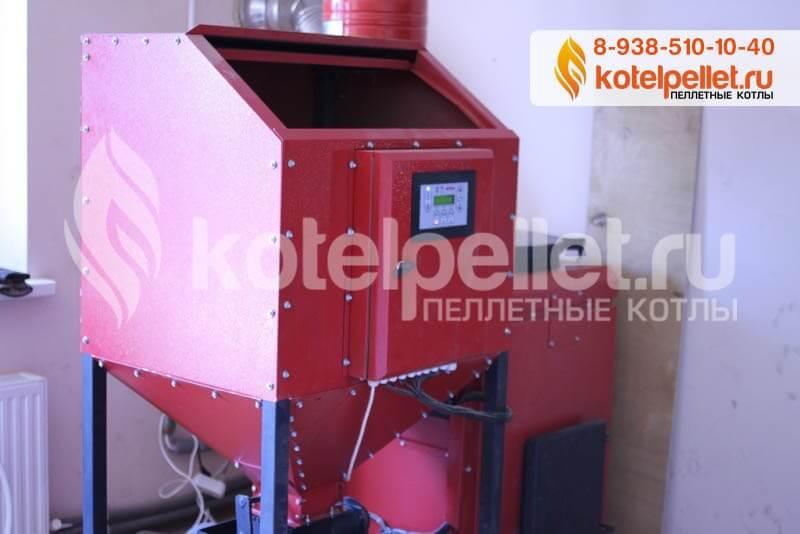 фото Наши объекты - Pelletnyiy kotel Roteks 15 Roteks 15 kVt CHastnyiy dom Novorossiysk 1