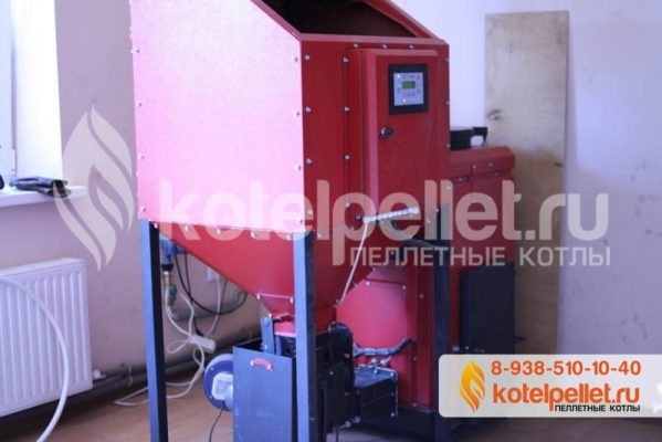 фото Пеллетный котел Ротекс Roteks-25 (Левый бункер) - Pelletnyiy kotel Roteks 15 Roteks 15 kVt CHastnyiy dom Novorossiysk 2 599x400