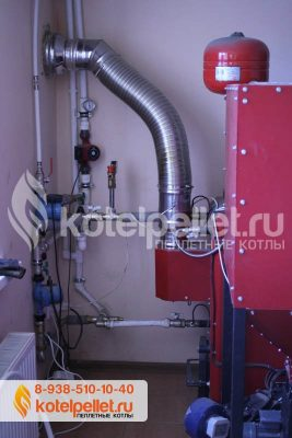 фото Пеллетный котел Ротекс Roteks-25 (Левый бункер) - Pelletnyiy kotel Roteks 15 Roteks 15 kVt CHastnyiy dom Novorossiysk 3 267x400