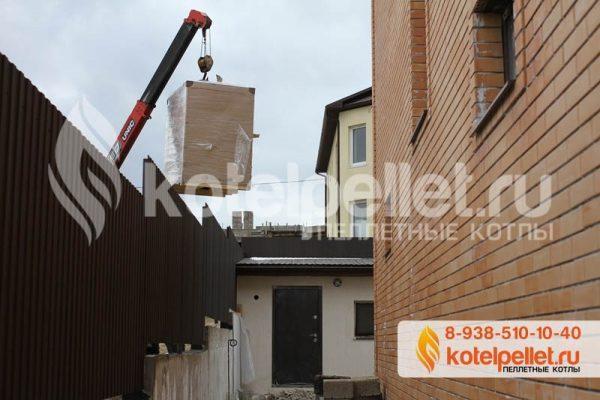 фото Наши объекты - Pelletnyiy kotel Roteks roteks 25 kVt Novorossiysk 2 600x400