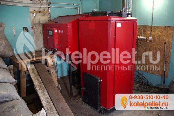 фото Отзыв на пеллетный котел Ротекс 100 (100 кВт) - Pelletnyiy kotel Roteks 100 2 599x400