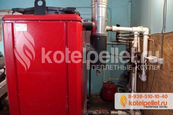 фото Отзыв на пеллетный котел Ротекс 100 (100 кВт) - Pelletnyiy kotel Roteks 100 3 599x400