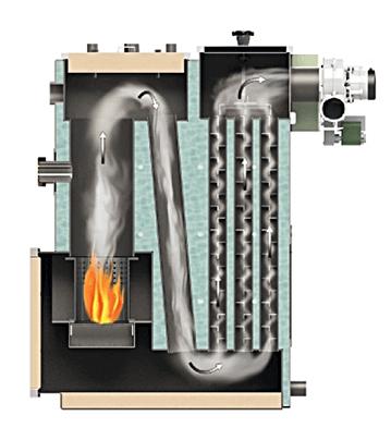 конструкция теплообменника с турбулизаторами КИТУРАМИ KRP-20PA