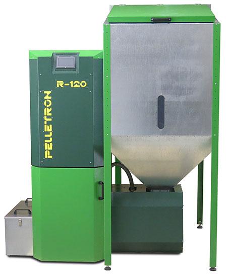 фото Пеллетрон (Pelletron) ROYAL 120 120 кВт - pelletron royal 120